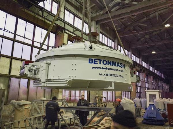 планетарный бетоносмеситель украина