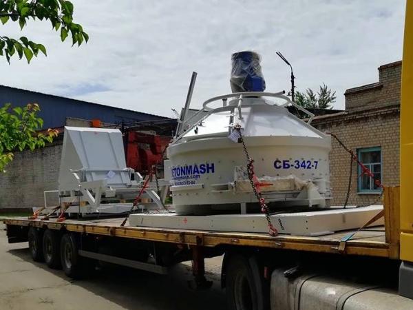 Отгружен блок смесительный СБ-342-7 в г. Черкассы