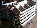 Мульды для отливки слитков из жидкого металла