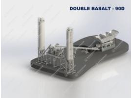 Бетонный завод мобильный 90 м3