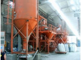 Dry building mixes plant SB-240V