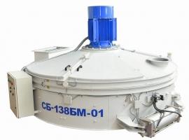 Бетоносмеситель роторный СБ-138БМ