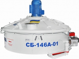 Бетонозмішувач роторний СБ-146А