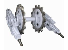 Натяжные устройства цепных конвейеров и транспортёров