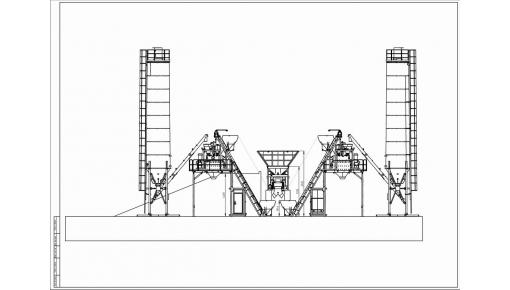 Бетонный завод «Double ГРАНИТ-120Д»