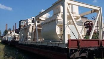 Отгрузка бетоносмесительного комплекса СБ-248 заказчику в Туркменистан
