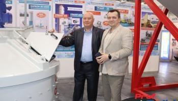 Иван Салий и Максим Флерко на международной выставке «KyivBuild-2019»