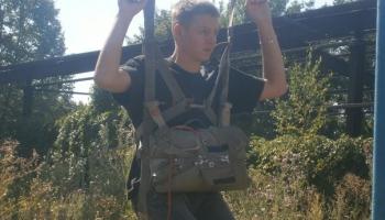 Первые парашютные прыжки
