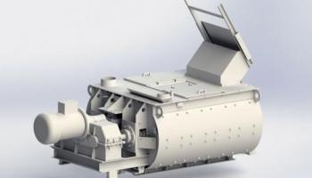 Новейшая модель 2-х вального смесителя.
