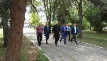 Главы Донецкой области и Славянска посетили ЧАО Бетонмаш