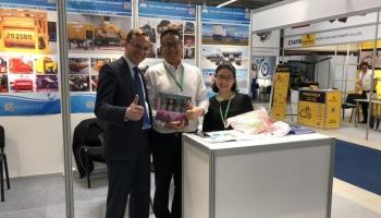 """ЧАО """"Бетонмаш"""" совместно с партнерами из Китая принимает участие в выставке"""