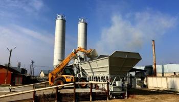 «Бетонмаш» поставил для Заказчика во Владимир-Волынский бетонный завод «Гранит-60»