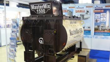 Новая модель двухвального бетоносмесителя MasterMix-1500 отгружена первому потребителю