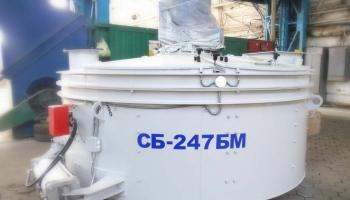 Готовы к отгрузке роторные бетоносмесители СБ-247БМ производства #Бетонмаш