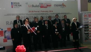 Участие в выставке «Строительство - UzBuild - 2014» в г. Ташкент, Узбекистан