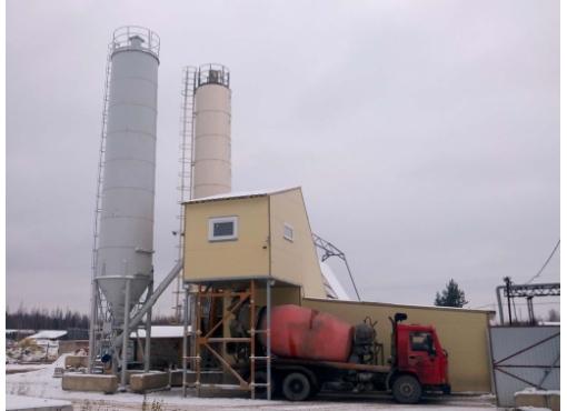 Быстромонтируемый бетонный завод «ГРАНИТ-60»