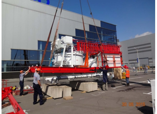 Быстромонтируемая бетоносмесительная установка «ГРАНИТ-60»