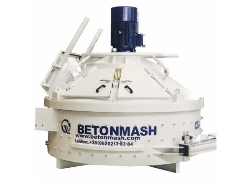 Бетоносмеситель планетарно-роторный СБ-242-7