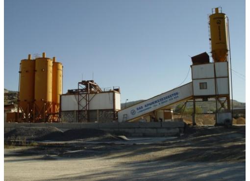 Бетонный завод СБ-145-4