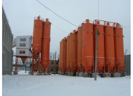 Цементный скад бетонного завода «БАЗАЛЬТ-150»