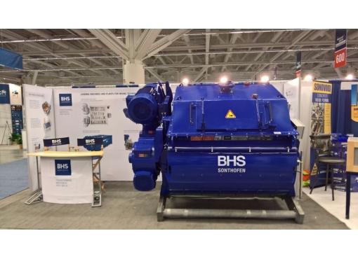 Двухвальный бетоносмеситель BHS DKX 4.00