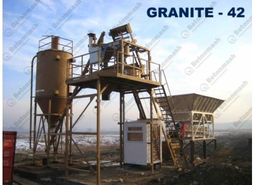 Мобильный бетонный завод «ГРАНИТ-42»