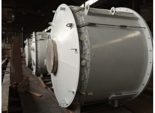 Силос для хранения цемента в разобранном состоянии