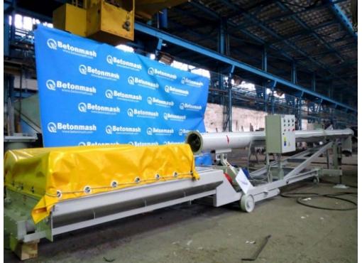 Установка для выгрузки цемента из хопров В-283-031-04