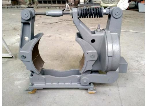 Тормоз колодочный ТКП-600