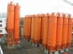 Силосы для цемента бетонного завода «БАЗАЛЬТ-150»